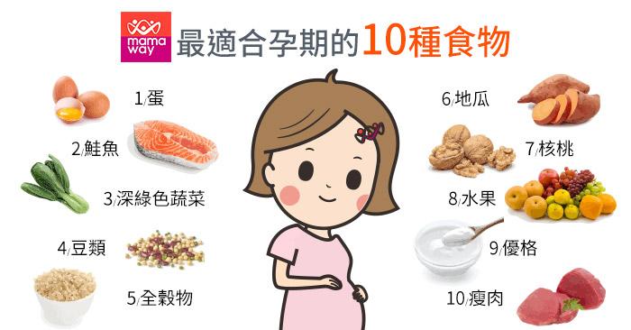 適合孕期的10種食物-700