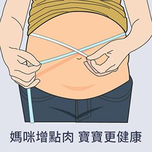 懷孕準媽咪增點肉 未來寶寶更健康