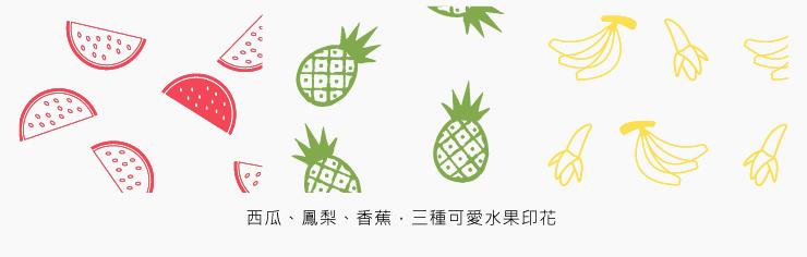 Baby水果拼盤無袖包屁衣(2入組)