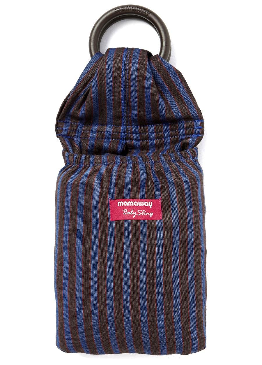 藍莓布朗尼育兒哺乳背巾