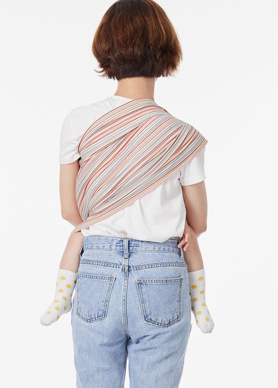 奶油千層派育兒哺乳背巾