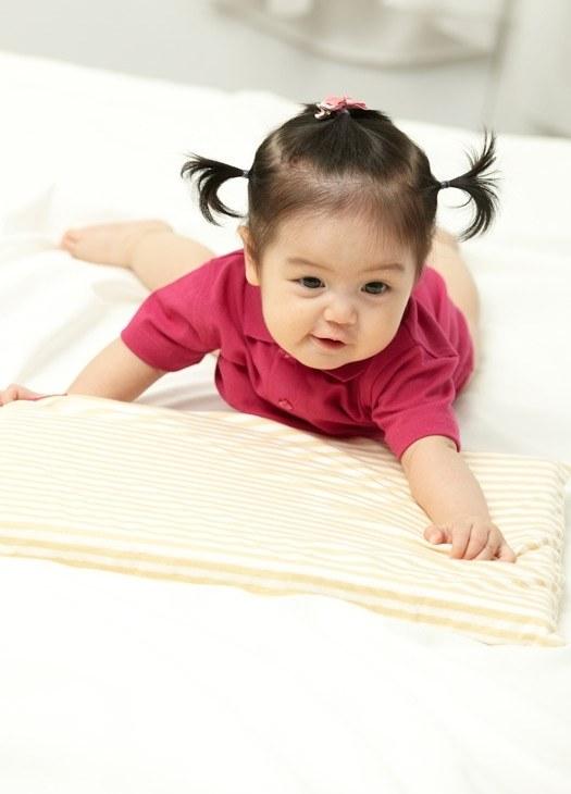 智慧調溫抗敏防蟎寶寶枕頭(枕心x1+枕套x1)