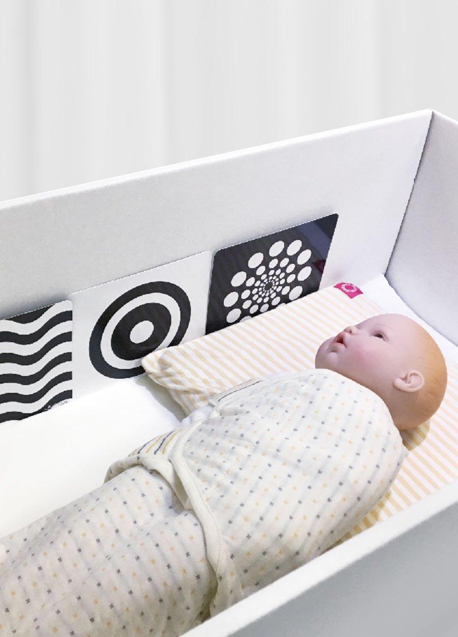 寶寶黑白視覺圖卡