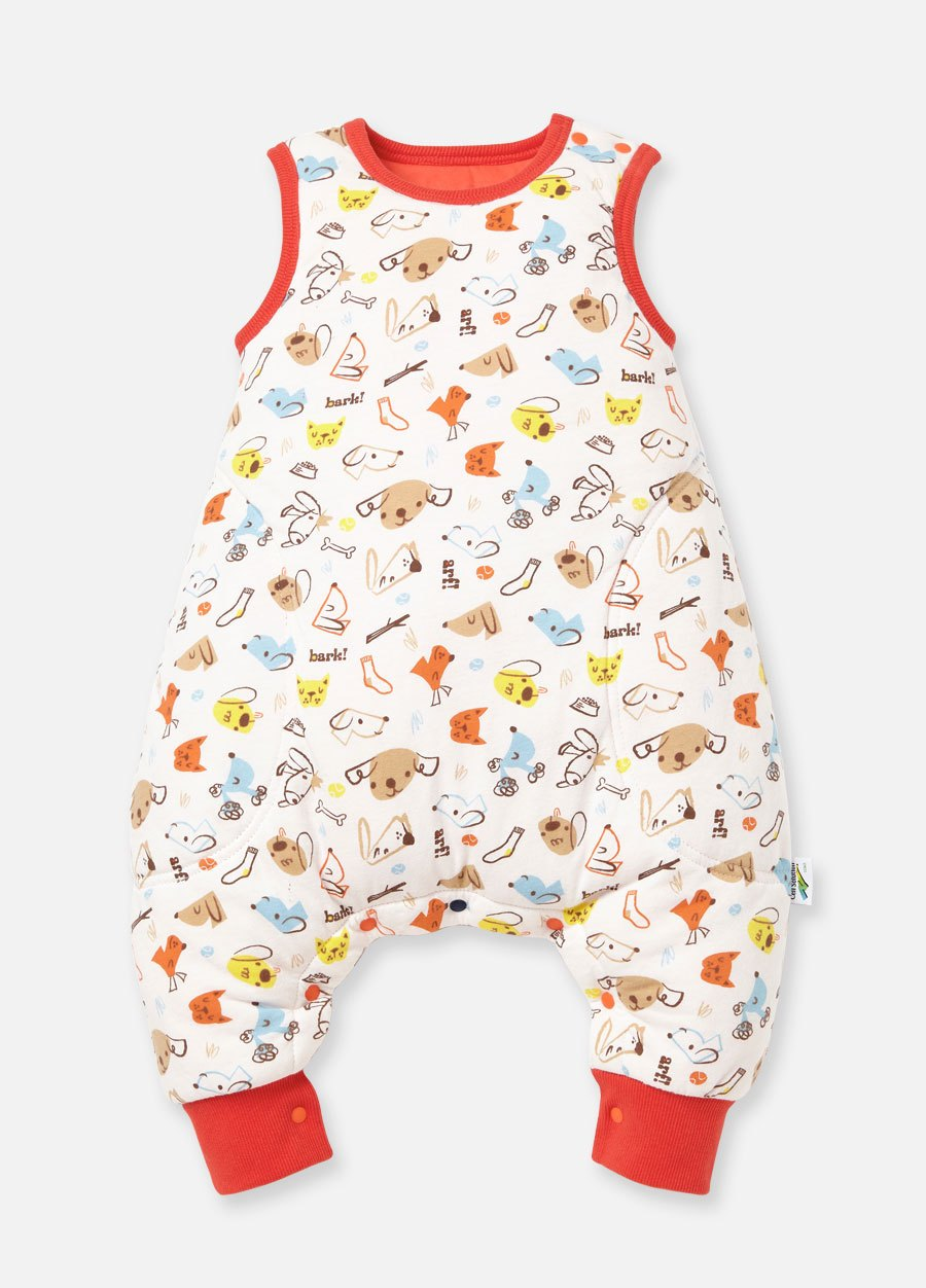 狗狗調溫抗菌嬰兒睡袋(防踢背心)