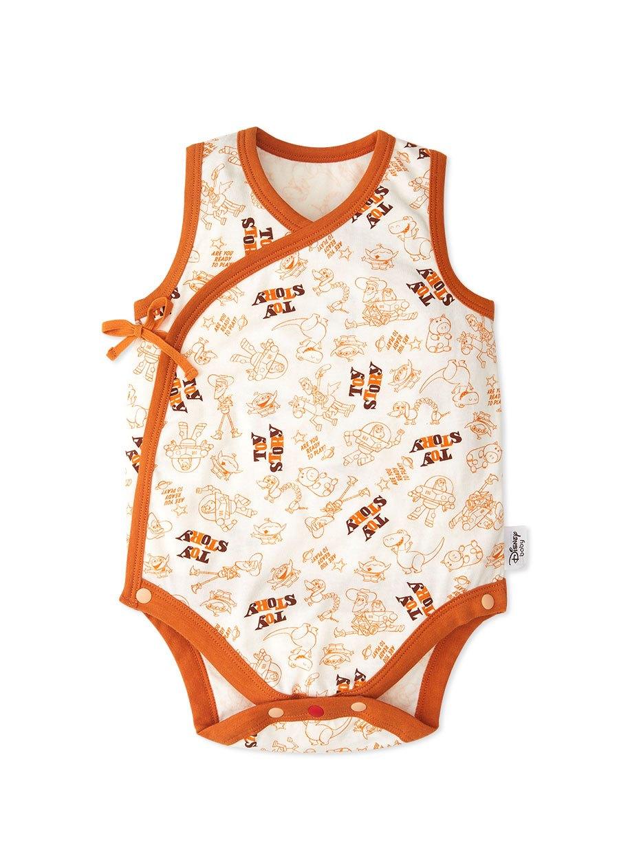 新生兒Q彈棉質無袖包屁衣(2入)-玩具總動員