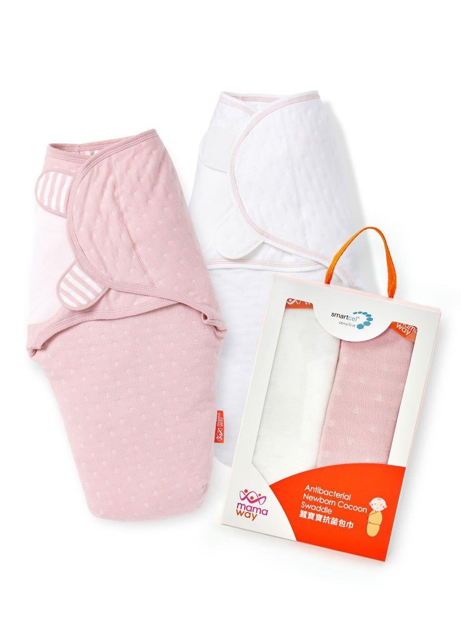 送禮組合|蠶寶寶抗菌包巾2入