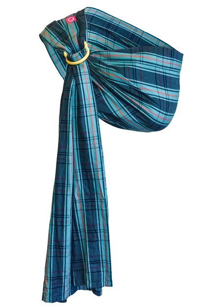 英倫丹寧育兒哺乳背巾