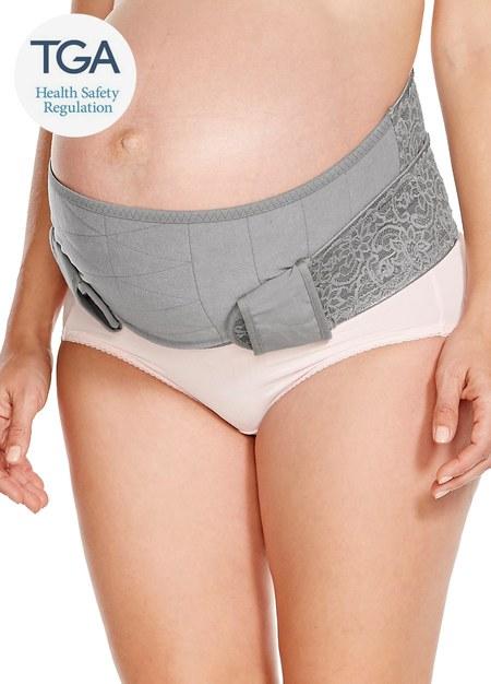孕期蕾絲護膚機能托腹帶