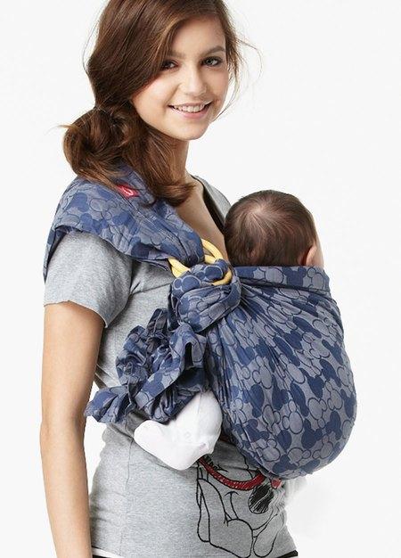 迪士尼米奇萬花筒育兒背巾(藍色)