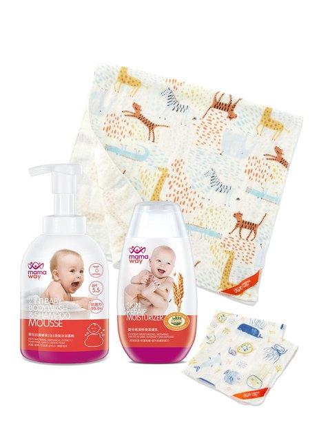 寶寶沐浴4件組