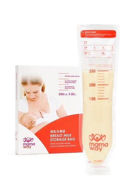 mamaway母乳冷凍袋(250ml/20入)