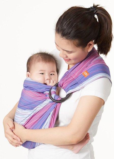 藍莓雪碧育兒背巾