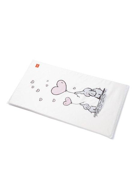 親子大象芬蘭嬰兒床墊套