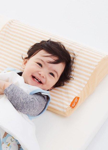 智慧調溫抗菌三合一嬰兒成長枕頭