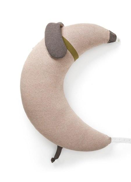 狗狗造型月亮枕