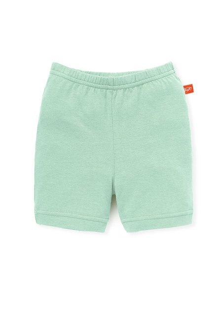 嬰幼兒Q彈棉質五分內搭褲-素色/星星