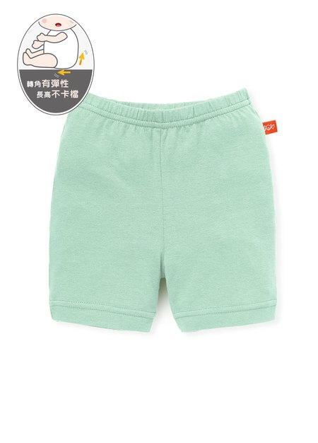 嬰幼兒Q彈純棉五分內搭褲-素色/星星