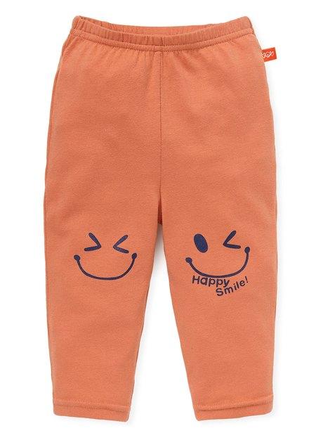 嬰幼兒Q彈棉質內搭褲(10分)-笑臉