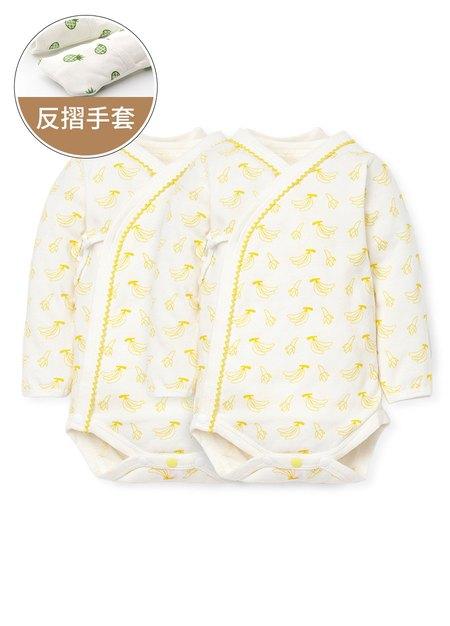 新生兒水果拼盤內著包屁衣(二入組)