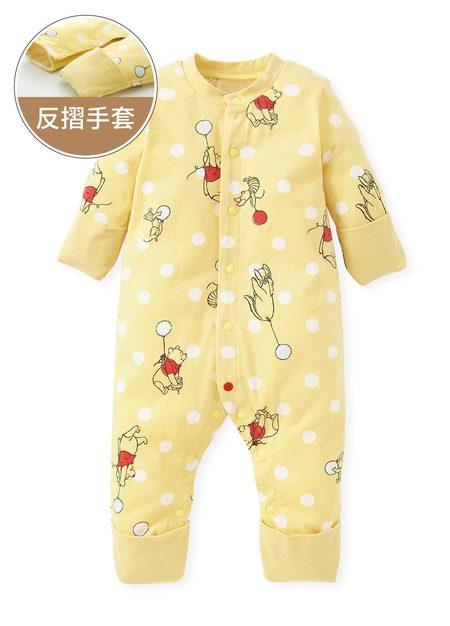 新生兒迪士尼維尼長袖連身衣