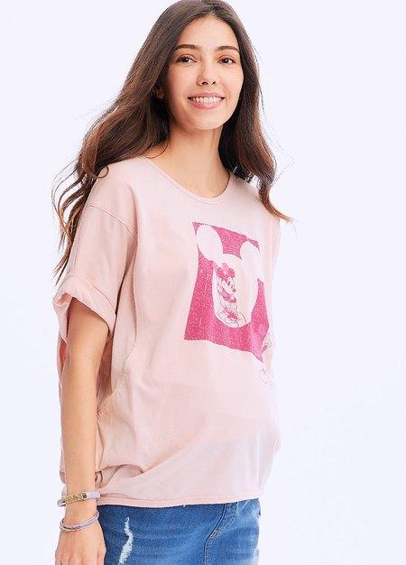 迪士尼疊影米奇孕哺罩衫