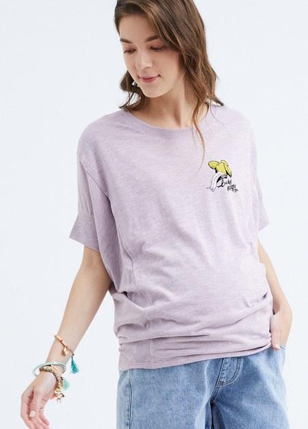 迪士尼米奇剪接孕哺罩衫