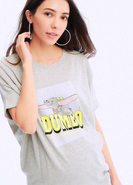 迪士尼小飛象剪接孕哺罩衫