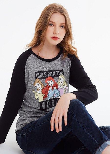 迪士尼公主哺乳T 恤