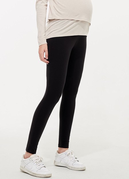 棉質舒適瑜珈孕婦褲