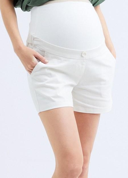 百搭竹節涼爽孕婦短褲