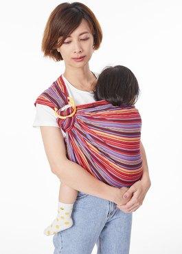 彩虹摩卡育兒哺乳背巾