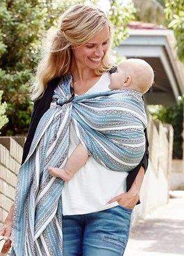 波西米亞育兒哺乳背巾