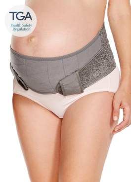 孕期蕾絲護膚機能托腹帶(簡易包裝)