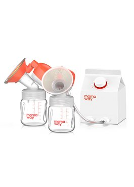 Mamaway電動雙邊熱敷吸乳器(預購)