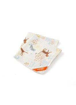 純棉3層紗口水巾(2入)