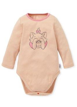 BABY迪士尼純棉長袖包屁衣-瑪麗貓