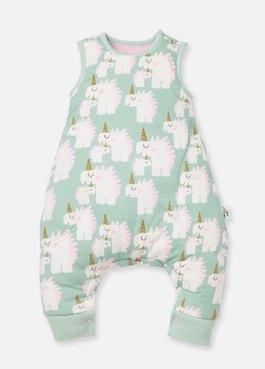 獨角獸調溫抗菌嬰兒睡袋(防踢背心)