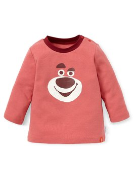BABY迪士尼純棉長袖T恤-熊抱哥