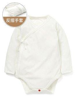 新生兒蓄熱保溫長袖包屁衣