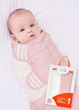 蠶寶寶抗菌包巾禮盒組 2入