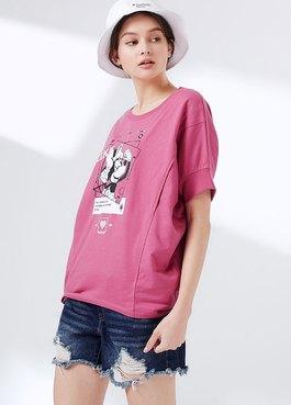 迪士尼網紅米妮孕哺罩衫
