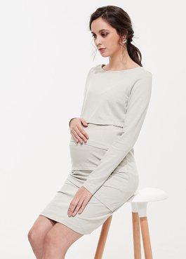 彈性孕哺洋裝