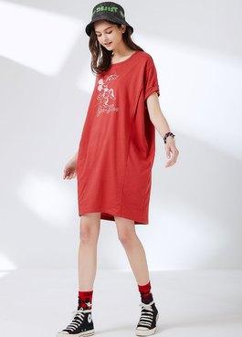 迪士尼Darling米妮長版孕哺罩衫