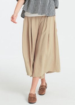 垂墜寬版孕婦褲裙