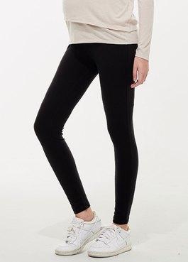 碳磨保暖瑜珈孕婦褲