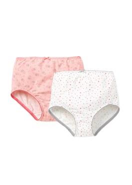 MERYL涼感孕婦印花中高腰內褲(2入組)