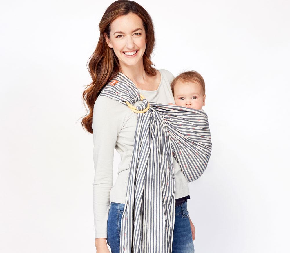 小紅鉚育兒哺乳背巾