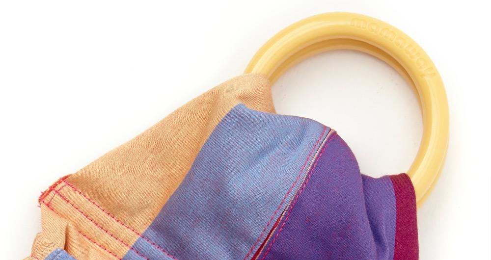 彩虹甜心捲育兒哺乳背巾