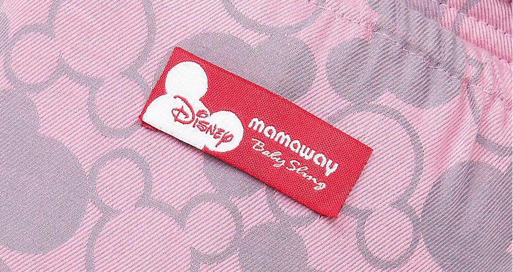迪士尼米奇萬花筒育兒哺乳背巾(粉紅)