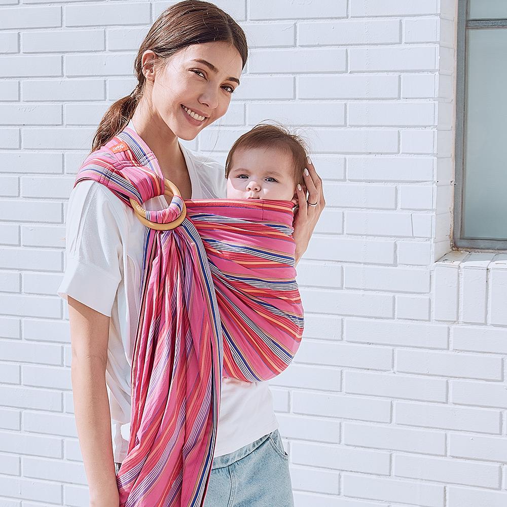 媽媽餵育兒哺乳背巾